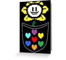 Pocket Flowey (color) Greeting Card