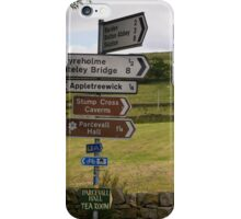 Showing the way iPhone Case/Skin
