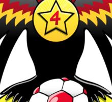 Germany's Eagle Soccer Champion Sticker