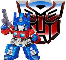 SD Optimus Prime by WhiskyOmega