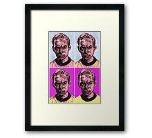 Pop Kirk Framed Print