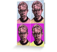 Pop Kirk Greeting Card