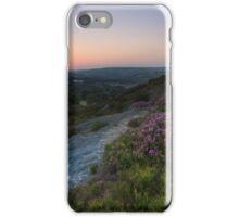 Norland moor sunset iPhone Case/Skin