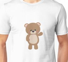 Teddy Bear Waving Unisex T-Shirt