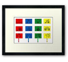 Child's Play Framed Print