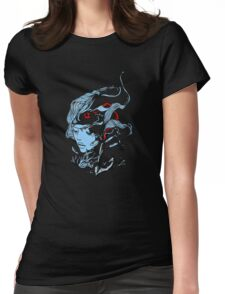 Destroy Coral Womens Fitted T-Shirt