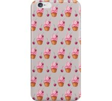 Сupcakes pattern iPhone Case/Skin