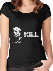 jason vorhees - kill Women's Fitted Scoop T-Shirt