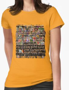 Harry Potter Characters Womens Fitted T-Shirt
