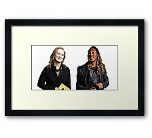 Meryl & Future Framed Print