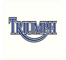 Triumph Vintage Art Print