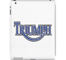 Triumph Vintage iPad Case/Skin