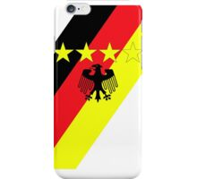 German 4 Stars iPhone Case/Skin