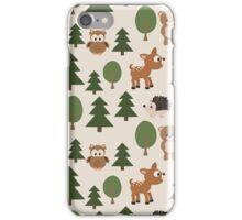 Woods Animals Pattern iPhone Case/Skin