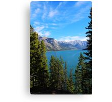 Mountain Current Canvas Print