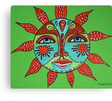 Tribal Sun  Canvas Print