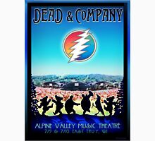 DEAD AND COMPANY SUMMER TOUR 2016 EAST TROY, WI ALPINE VALLEY MUSIC THEATRE Unisex T-Shirt