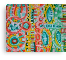 Vibrance Abstract  Canvas Print