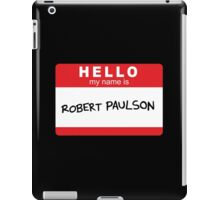 Robert Paulson iPad Case/Skin