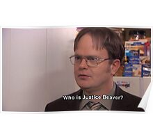 Dwight Schrute: Who is Justice Beaver? Poster