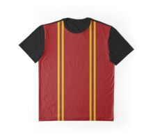 Gryffindor Stripes Graphic T-Shirt