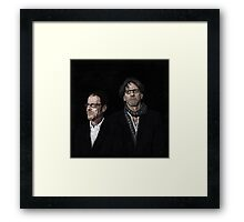COEN BROTHERS Framed Print