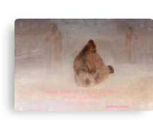 Angels guard thee Canvas Print