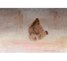 Angels guard thee Photographic Print