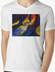 Dead Forest Mens V-Neck T-Shirt