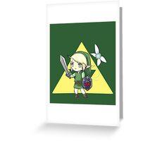 Chibi Link, The Legend of Zelda Greeting Card
