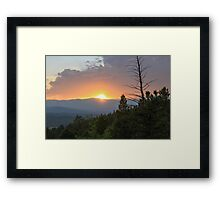 Colorado Sunset 2 Framed Print
