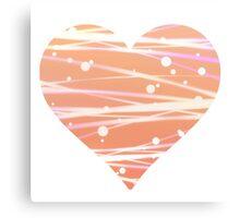 White Peach  Canvas Print