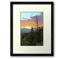 Colorado Sunset 3 Framed Print