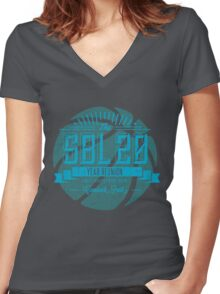 SBL 20 Year Reunion Women's Fitted V-Neck T-Shirt