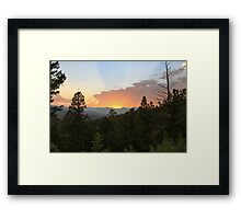 Colorado Sunset 4 Framed Print