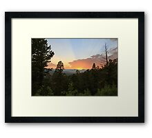 Colorado Sunset 5 Framed Print