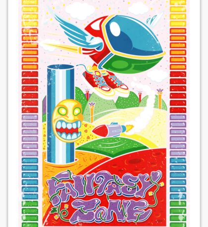 Fantasy Zone Sticker