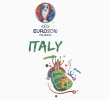 Italy at Euro 2016 by refreshdesign