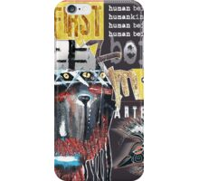 human being iPhone Case/Skin