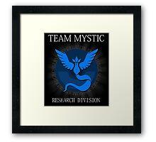TEAM MYSTIC Framed Print