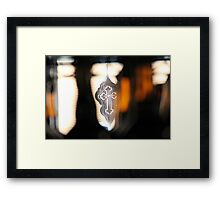 Cross Framed Print