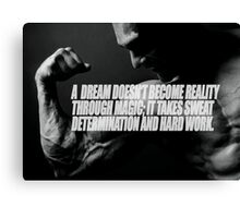 Dream and Reality Canvas Print
