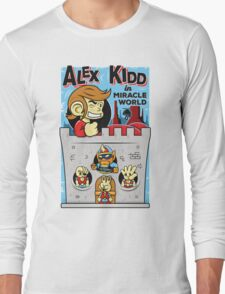 Alex Kidd in Miracle World Long Sleeve T-Shirt