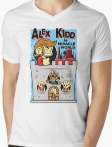 Alex Kidd in Miracle World Mens V-Neck T-Shirt