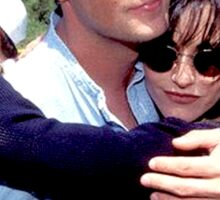 Matthew Perry Courteney Cox Sticker