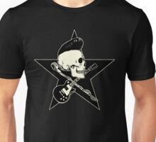Rock-n-Roll Skull Unisex T-Shirt