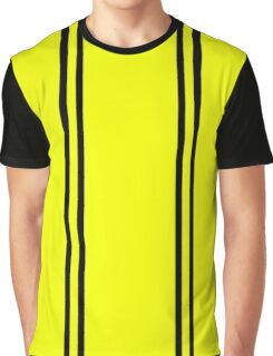 Hufflepuff stripes Graphic T-Shirt
