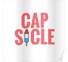 Cap-Sicle: Captain America Poster