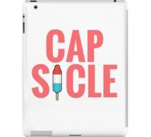 Cap-Sicle: Captain America iPad Case/Skin