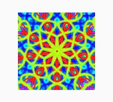 Mandala With Yellow Red And Blue Unisex T-Shirt